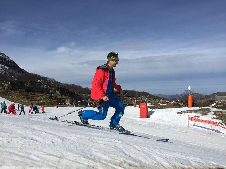 Le télémark, ancêtre du ski Station de Gourette Montagne des Pyrénées