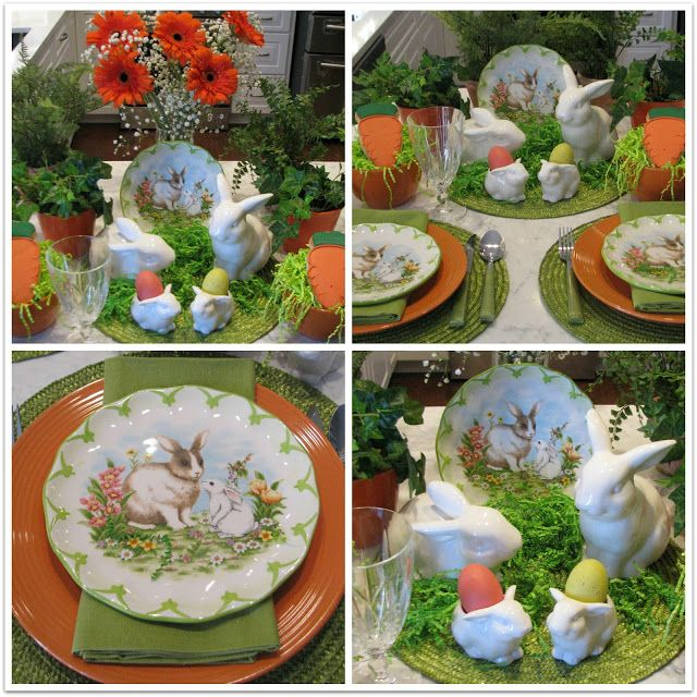 JBigg's Little Pieces: Easter Scape With Rabbits & Eggshttp://jbiggslittlepieces.blogspot.com/2016/03/easter-scape-with-rabbits-eggs.html