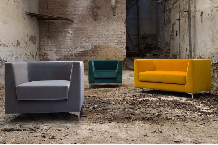 Lincoln Sofa by Domingo. Ideal for a waiting area in your offices. #sofa #furniture