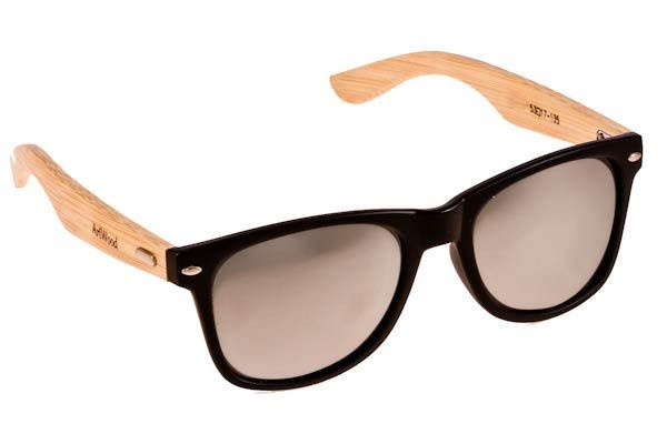 Γυαλια Ηλιου  Artwood Milano Bambooline 2 MP200 Black Silver Mirror Polarized - bamboo temples Τιμή: 100,00 € #eyeshopgr #artwoodmilano