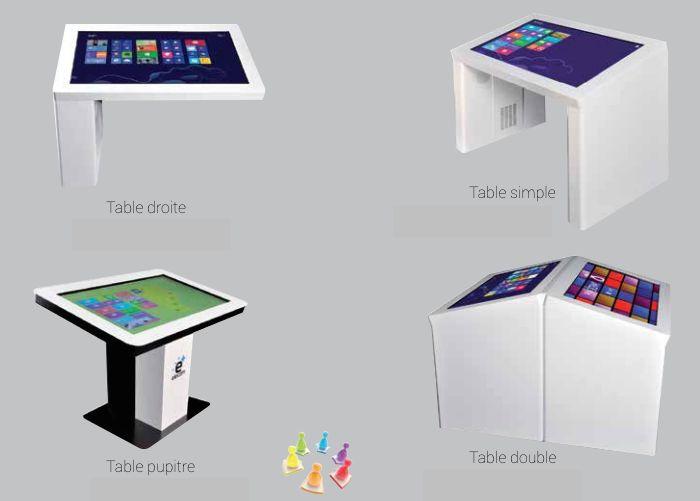 Tables tactiles... petit ou grand modèle, totem... demandez-nous :-)