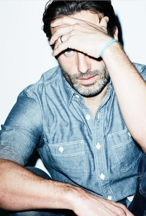 Andrew Lincoln... Walking Dead + our shirt