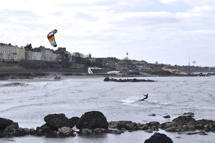 Kite surfing salthill beach