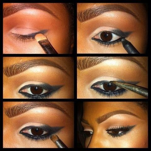 smokey eye makeup for black women - Google Search