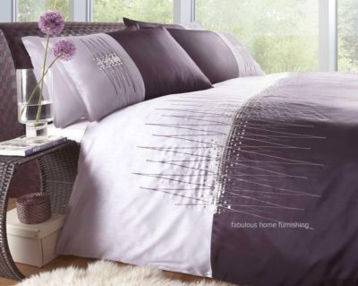 It's a little far away, but a new bedding set is on my Christmas wish list!