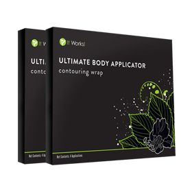 Quick Pick 1 -Are you ready to love your body? The Ultimate Body Applicator is a non-woven cloth wrap that is infused with a botanically-based formula. Contouring wrap Mess-free and simple to use Powered by a botanically based formula Includes: 2 boxes of Ultimate Body Applicators (8 applications)
