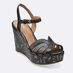 Amelia Page Black Leather