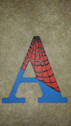 Spiderman Letter
