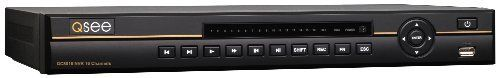 Q-See QC8016-1 Completely Digital 16 Channel Network Video Recorder with POE Solution and Pre-installed 1TB Hard Drive (Black) by Q-See. $699.99. From the Manufacturer                 QC8016-1 Platinum 16 Channel Digital NVR AT A GLANCE:   Supports up to 16 Cameras Completely Digital 1TB Harddrive NVR will Record IP Cameras Located Locally or Remotely 4 Integrated Power Over Ethernet (POE) Ports HDMI® Port for HD Viewing Email Alerts with Incident Snapshots Remote internet monit...