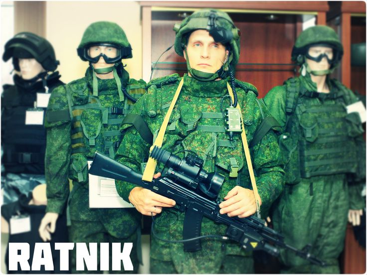 """""""The Ratnik (Warrior) kit comprises more than 40 components, including firearms, body armor and optical, communication and navigation devices, as well as life support and power supply systems."""" #Ratnik #Armor #SoldierofFuture #MadeInRussia"""