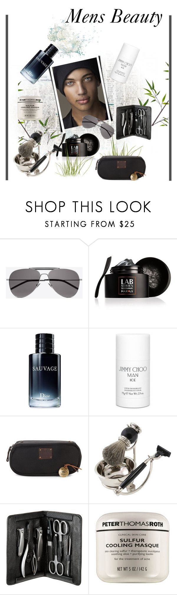 """*Men's Beauty Contest*-Set#3"" by sassy-elisa ❤ liked on Polyvore featuring Yves Saint Laurent, Lab Series, Christian Dior, Jimmy Choo, Will Leather Goods, Bey-Berk, Peter Thomas, men's fashion and menswear"