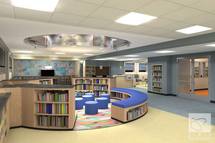Southwest Baltimore Charter School Interior Design Rendering