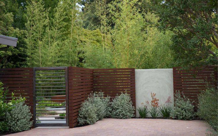 Thuilot Associates : Palo Alto : Residential : Materials : Screening