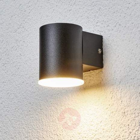 Sleek Morena LED outdoor wall lamp in black-9988057-22