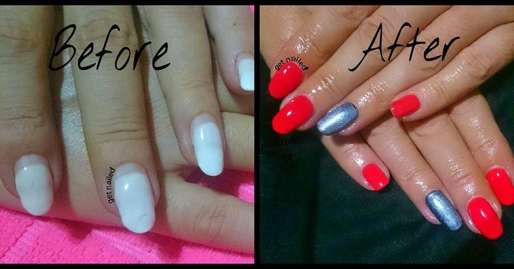 Soak off gel nails removal after 28 days 💪💅