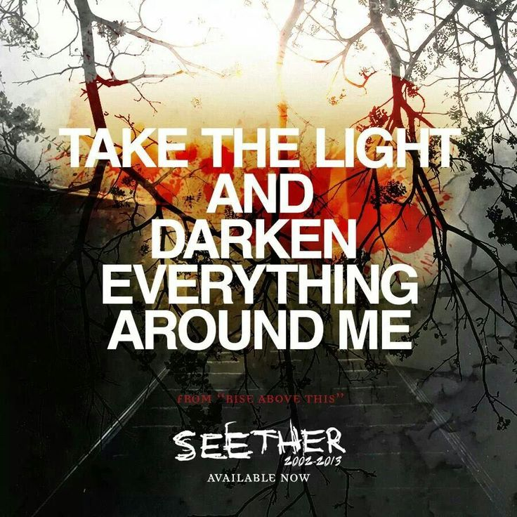 Rise Above This-Seether