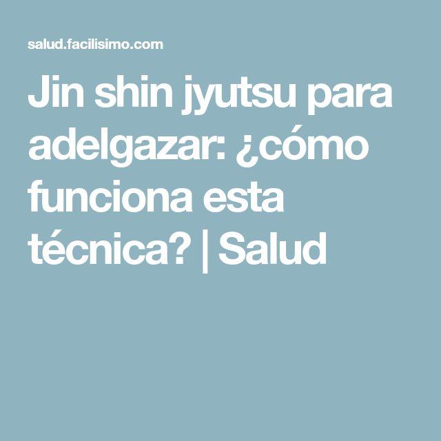 Jin shin jyutsu para adelgazar: ¿cómo funciona esta técnica? | Salud