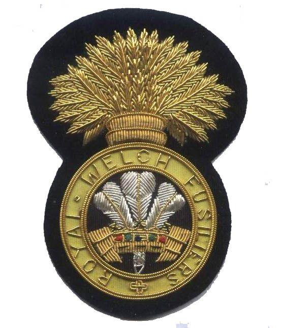 RWF Comrades Blazer Badge.