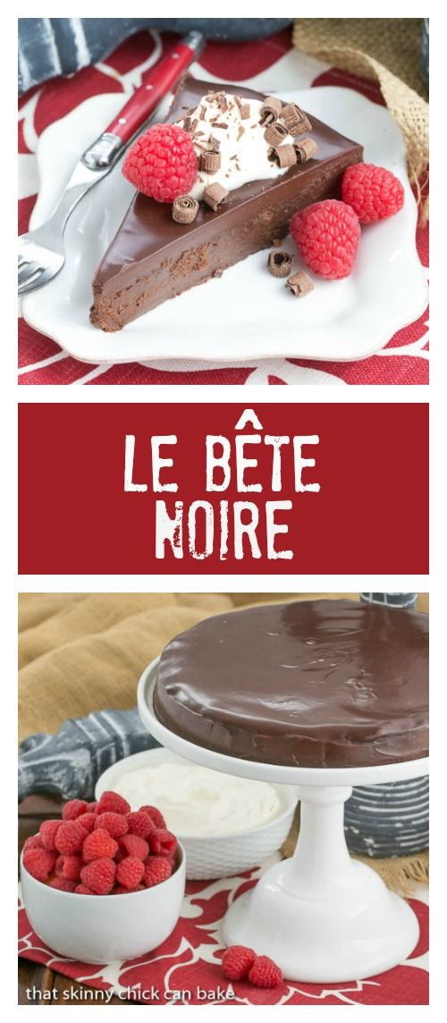 The Black Beast |The BEST flourless chocolate cake--pure bliss! @lizzydo