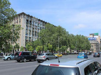 Duminică în Bucureşti (bd. Nicolae Bălcescu)