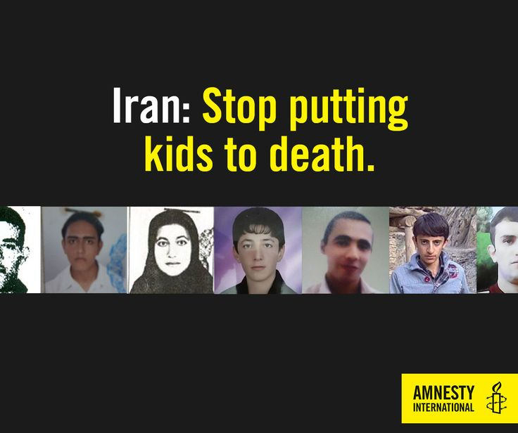These are real photos of Iranian children who have been executed or are waiting on death row. In 10 years, Iran has put no less than 73 children to death. This has to stop. Sign our petition >> http://amn.st/6499BZkH3