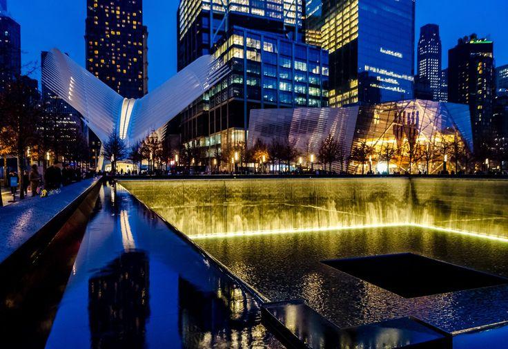 PhotoPOSTcard: New York City's 9/11 Memorial
