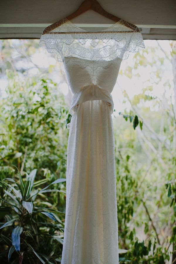 Wedding Dress: Anna Campbell gown purchased at Babushka Ballerina