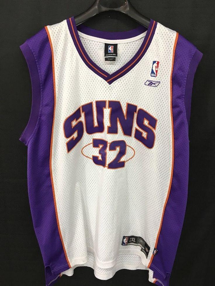 MENS 2XL AMARE STOUDEMIRE #32 PHOENIX SUNS REEBOK NBA SEWN JERSEY VINTAGE #Reebok #PhoenixSuns