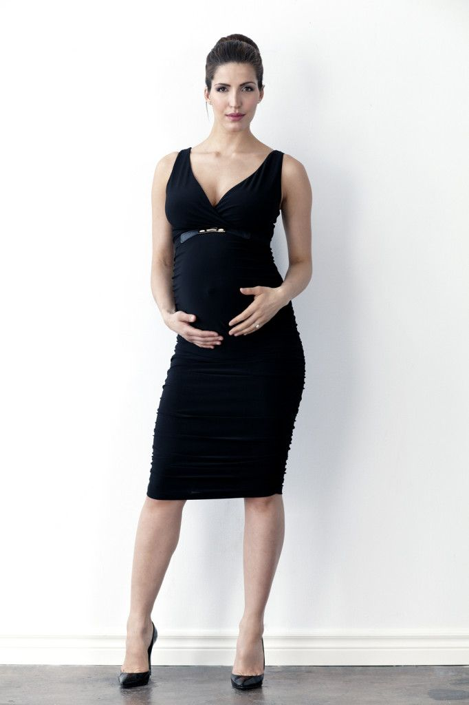Carry Ruched Cocktail Dress- Black
