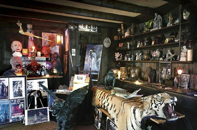 The real Ed and Lorraine Warren Occult Museum.