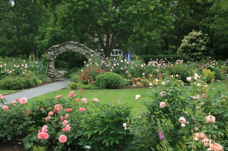 The Rose Garden @ Blithewold In Bristol RI | Historic Gardens | Pinterest | Gardens Bristol ...