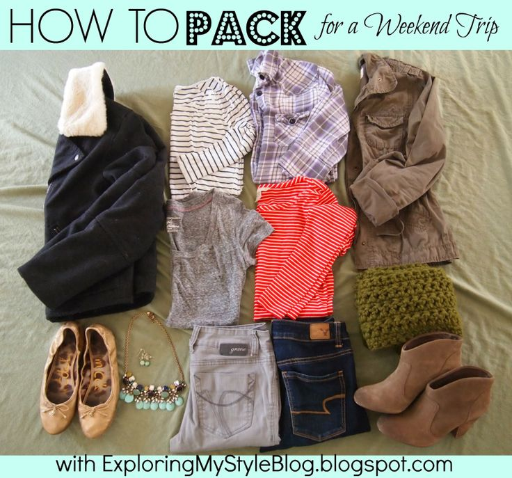 How and What to Pack for a Weekend Trip Vacation Getaway: Fall. Exploring My Style Blog