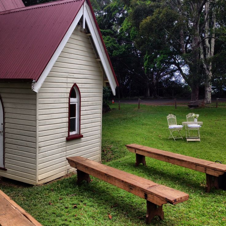 Ewingsdale Hall - great location to Byron Bay and has shelter, shade and a hall if needed for reception or ceremony.