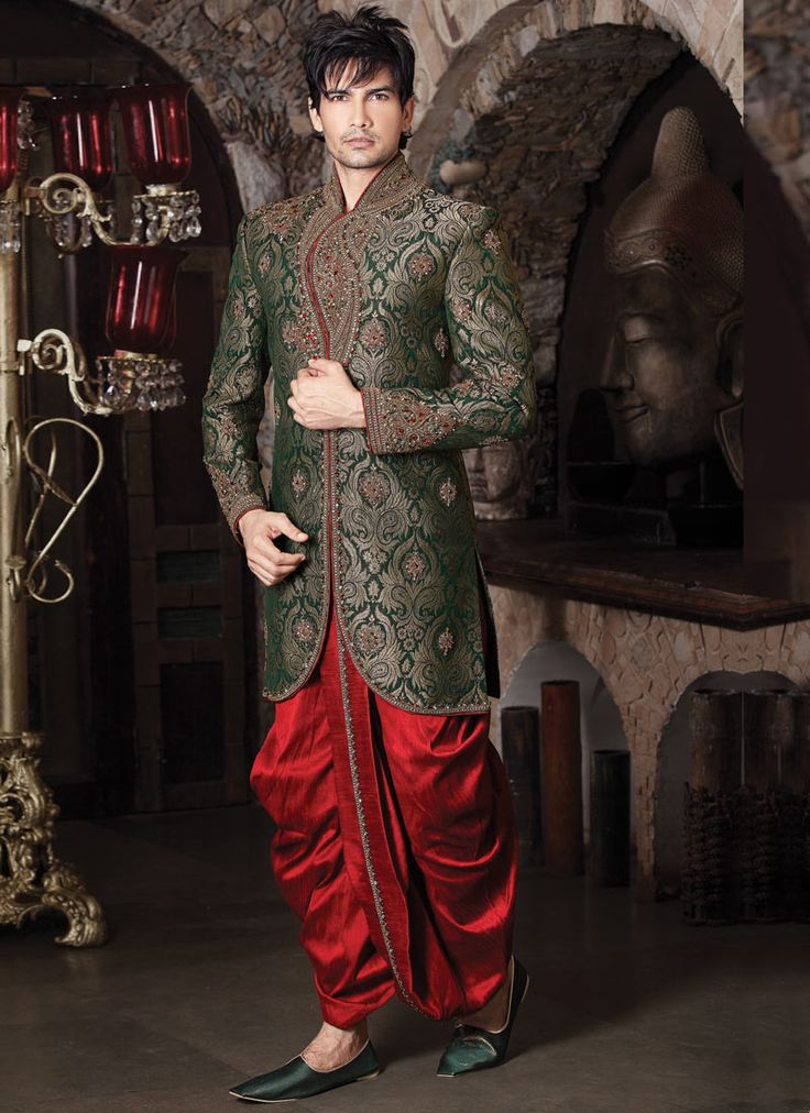 25+ best Men\'s wedding and party wear dresses images on Pinterest ...