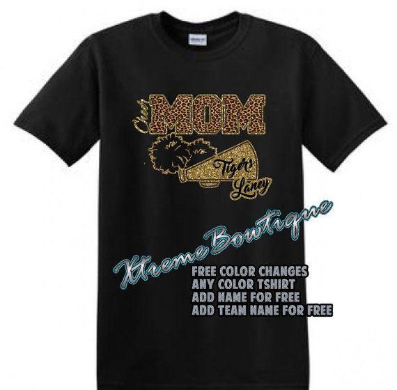 Custom Cheer Mom Shirt Cheer Mom TShirt by XtremeBowtiqueBows