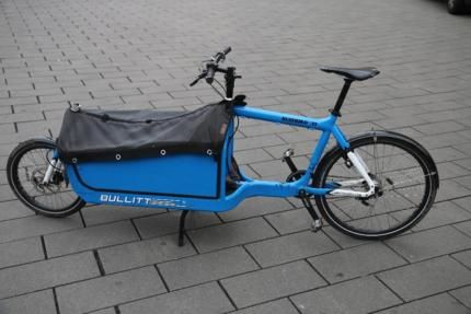 bullitt lastenrad mit box und kindersitz in hannover. Black Bedroom Furniture Sets. Home Design Ideas