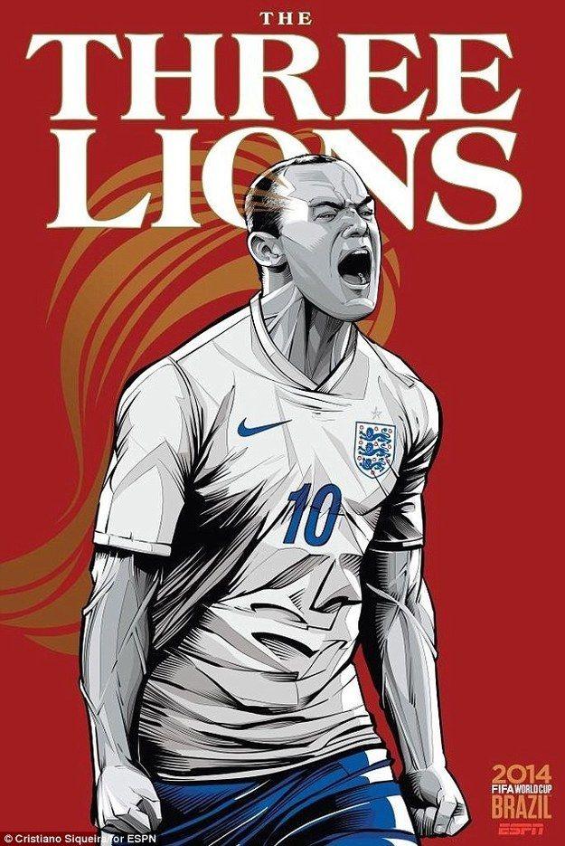 FIFA world cup 2014 England