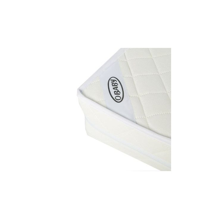OBaby Sprung Mattress For Cot Bed (140 x 70cm) The Obaby sprung interior cot bed mattress is suitable for all Obaby cot beds. Comfort is paramount with a softly quilted cover, tapered edges for extra support and shape, over a high tensile coil spr http://www.MightGet.com/march-2017-1/obaby-sprung-mattress-for-cot-bed-140-x-70cm-.asp