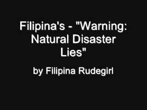 Online Chat Warning - Natural Disasters Trick - Philippines  The basics of the Filipina Chat Scam http://www.youtube.com/watch?v=VitasyW6qME  Beware of the Filipina Marriage Scam http://voices.yahoo.com/beware-filipina-marriage-scam-6845058.html  filipino cupid filipino heart: American scammed http://elamb.org/filipino-cupid-filipino-heart-american-scammed/