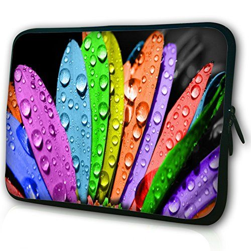 """Waterfly® Tender Lily 11.6"""" 12"""" 12.1"""" 12.2"""" Inch Laptop Notebook Netbook Tablet Computer Soft Neoprene Breathable Case Bag Sleeve Pouch Protector Holder Cover Briefcase For Apple Macbook Air 11.6"""" Apple iBook Dell Latitude E4200 12"""" Dell Latitude E7240 TOSHIBA Portege M780 12"""" Lenovo X61 12"""" And All 11"""" 11.6"""" 12"""" Inch Laptop Ultrabook Chromebook Laptop Netbook Waterfly http://www.amazon.com/dp/B00KGU13QO/ref=cm_sw_r_pi_dp_VNEZwb1GTZ7ZG"""