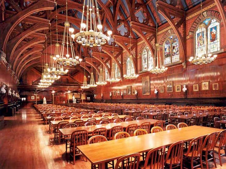 Harvard's Annenberg Hall (Freshman Dining Hall)This is where Neila meets Mrs. Maguire.