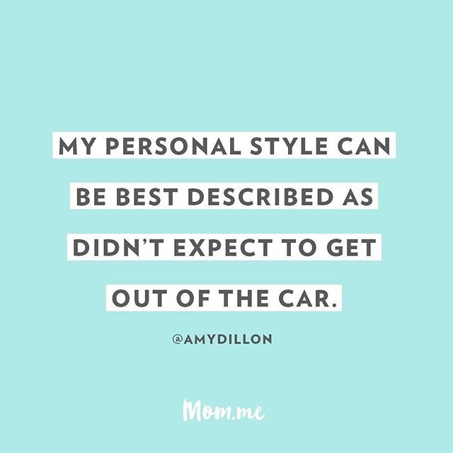 Top bun & on the run! :red_car: :dash: // #momlife #momdotme
