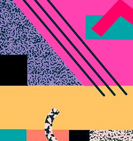 Yoko Honda · Illustration . 80's inspired artwork: Project Idea - decade-inspired designs