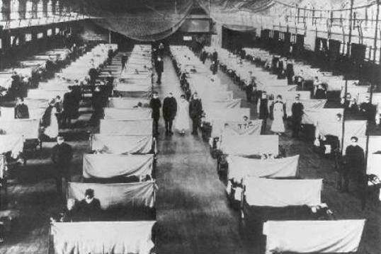 La grippe espagnole Tpe de PS des années précédentes