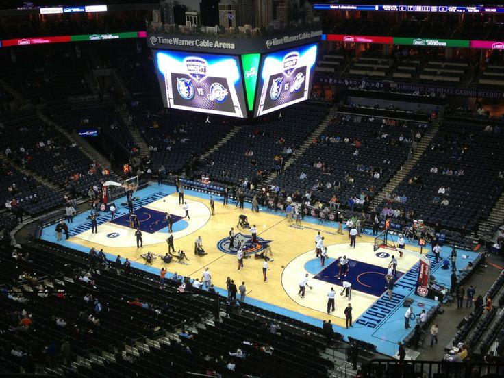 Time Warner Cable Arena : Home of the Charlotte Bobcats, Charlotte, NC.