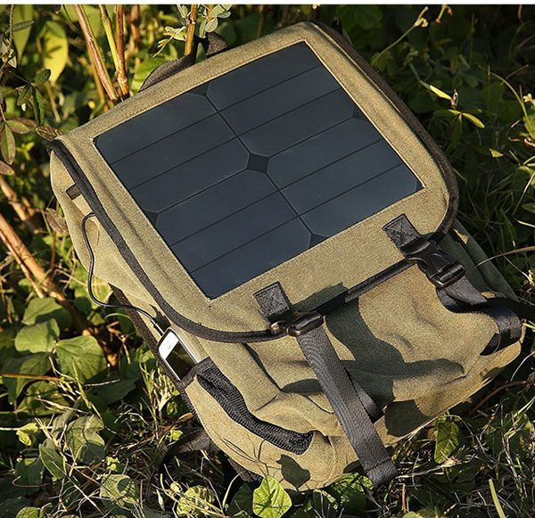 Solar Powered Backpack New Arrivals 18 Inches