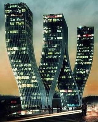 Walter Towers - #Prague Czech Republic | Incredible Pictures #architecture #waltertowers #modernarchitecture