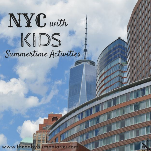 NYC Summertime Activities with Kids