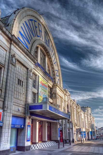 Blackpool Winter Gardens - Lancashire, UK. This is where the heat boils #getyourdanceon