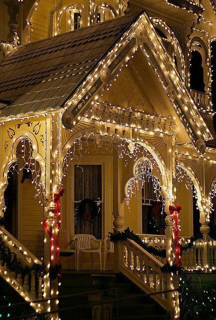 really look forward to lighting my house one day. that being said... I don't look forward to taking the lights down after lol